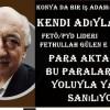 Konya da bir iş adamı kendi adıyla Fetö/PYD lideri Fethullah Gülen e para aktardığı ve bu paraları banka yoluyla yaptığı sanılıyor.