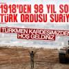 Türk ordusu yıllar sonra Suriye topraklarında