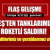 DEAŞ Türk tanklarına saldırdı: 2 şehit, 5 yaralı!