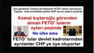 Kemal kıçtaroğlu görevden alınan FETÖ' luların oyları peşinde