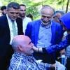 Darülaceze'de Bakanımız'la bayram
