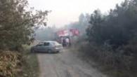 Kemerburgaz'da Orman Yangını