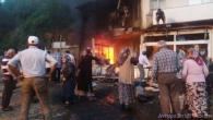 Kastamonu'da İki Dükkan Yandı
