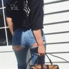 Kylie Jenner'dan cesur sokak stili