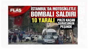 İstanbul Yenibosna'da polis merkezi yakınında şiddetli patlama!