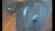 Arnavutköy de soygun girişimi güvenlik kameralarına yakalandı.