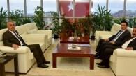 Yavuz ve Alver'den Bilgiç'e ziyaret