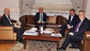 Başkan Aydın, Bakan Soylu'yu Makamında Ziyaret Etti