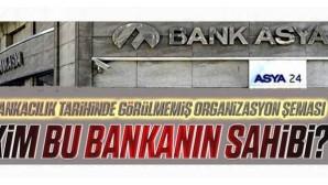 Bank Asya'da görülmemiş organizasyon şeması