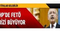 CHP'de FETÖ krizi büyüyor Akp CHP aynı kafa da
