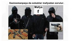 Gaziosmanpaşa yer altı kumar ve tombala uyuşturucu mafyasından gazetemize ve siyasilere emniyete kaymakamlığa Tehdit