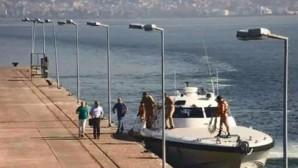 Darbeci amirallerin kaçış anı güvenlik kameralarına yansıdı