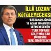 MHP'li Halaçoğlu: Cumhurbaşkanı Lozan'ı bilmiyor
