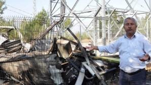PKK'lıların baz istasyonuna saldırısıyla 5 mahallenin iletişimi kesildi