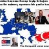 President Recep Tayyip Erdogan wins a European game of chess with condition Cumhurbaşkanı Recep tayip Erdoğan Avrupa ile satranç oyununu bir şartla kazanır.