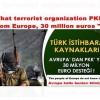 """Welche Terrororganisation PKK """"aus Europa, 30 Millionen Euro"""""""