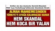 """Größer als das deutsche Gericht-Skandal: PKK 'Lıya Verhaftung""""mildernde Umstände Strafe"""