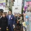 """Bebekler Duvarı"""" ile kadına şiddet protesto edildi"""
