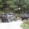Ormanlık alanda polis operasyonu