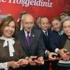 CHP lideri Kemal Kılıçdaroğlu Fikret Otyam Sanat Evi'ni açtı