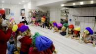 Maltepeli çocuklar mutfak ziyaretinde
