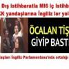 PKK yandaşları İngiliz Parlamentosu'nda ortalığı karıştırdı!