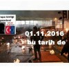İstanbul Beşiktaş'ta bombalı saldırıyı gölge gazeteci önceden yetkililere ihbar etmişti 01.11.2016 bu tarih de