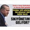 Erdoğan 'milli seferberlik' dedi kafalar karıştı Terör e karşı Seferberlik ve Savaş Hali gelebilir.