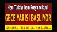 Suriye'de Türkiye ve Rusya'nın garantörlüğünde ateşkes sağlandı
