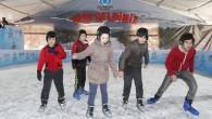 Buz Pisti ve 10 D Sinema Hizmete Açılıyor