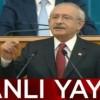 Siz Türkiye cumhuriyetini yıkmaya çalışanları engelleyin Sayın Kılıçdaroğlu