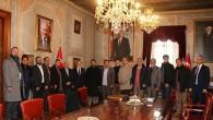 Başkanımız Hamza Cebeci İranlı heyeti ağırladı