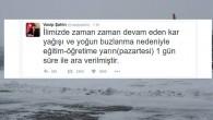 İstanbul'da okullara kar tatili… Yarın (pazartesi) okullar tatil edildi