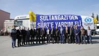 Sultangazi Belediyesi'den Siirt'e Yardım TIR'ı