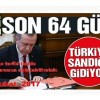 Erdoğan referandum taslağını onayladı