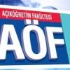 2017 yılı AÖF sınavı için kayıt yenileme şartları açıklandı!