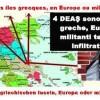 4 DEAŞ sono le isole greche, Europa o militanti terroristi infiltrati