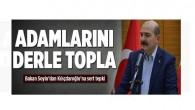 Bakan Soylu'dan Kılıçdaroğlu'na sert tepki.