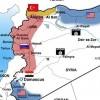 Mossad haritayı yayınladı! İşte istedikleri Suriye