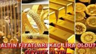 Altın fiyatları kan kaybetmeye devam ediyor! Çeyrek altın…