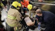 Hong Kong'da metroda yangın: Ağır yaralandılar
