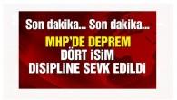 MHP'de 'hayır'cı vekiller için flaş talep