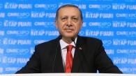 Erdoğan Kitap Fuarı'nda konuştu
