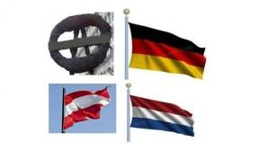 Almanya, Avusturya ve Hollanda  ya siyah çelenk