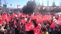 CHP'nin etkinliği mitinge döndü