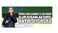 Erdoğan: Dağdan oyumuz hayır diyorlar.