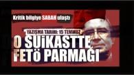 Necip Hablemitoğlu suikastı EAGLE'da