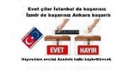 Evet, çiler İstanbul da başarısız-İzmir de başarısız Ankara başarılı