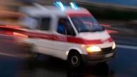 Ticari taksi arkadan tıra çarptı: 1'i ağır 2 yaralı
