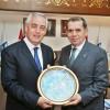 G.Saray Başkanı Özbek'ten Başkan Aydın'a ziyaret